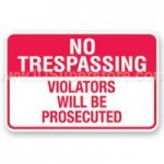 NC Landowner to Invoke No Trespassing Laws
