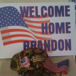Wounded Warrior Comes Home!