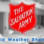 Salvation Army Cold Weather Shelter Open