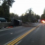 Accident Closes Hwy 20 at Dow Rd.