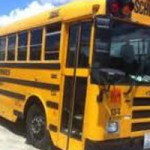 School Bus Gets Tangled On Way To School