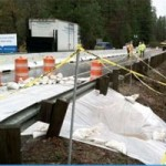 Sink Hole Repair in Progress on Highway 49