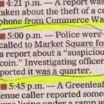 A Lighter Side of The News