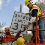 Speed Limit Going Up on County Road