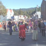 Nevada City Visitors Enjoy Town Without Parade