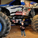 Bounty Hunter Monster Truck In Grass Valley This Afternoon