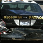 Second Vehicle Runs Into CHP Vehicles