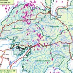 Lightning Fires on Tahoe National Forest