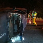 Drivers Extricated in Two Overnight Accidents