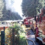 Pasquale Road Structure Fire Quickly Contained