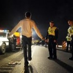 Sobriety Checkpoint Nets One D-U-I Arrest