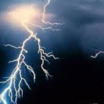Labor Day Storm Brings Lightning Strikes