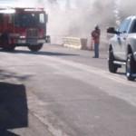 Oil Spill Closes Dorsey Drive