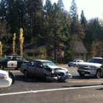Run-Away Car and Other Accidents in Nevada City