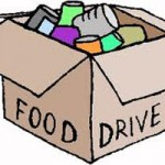 Hastily Organized Food Drive Benefits Families
