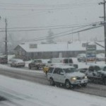 County Crews Keep Snowy Roads Clear
