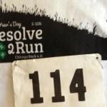 Resolve 2 Run New Year's Morning