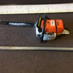 Modern Day Sword Fight Involves Chainsaw and Pipe