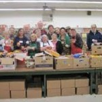 Full Speed Ahead for Holiday Food Distributions