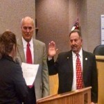 Miller, Weston, Others Sworn In in County Ceremony