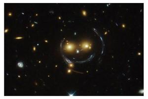 Hubble-spots-smiley-face-in