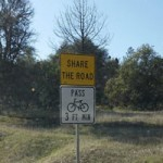 New Bicycle Safety Signs for Nevada County