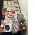 Three Arrested On Pot Meth and Heroin Charges