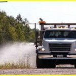 County Begins Roadside Spraying