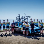 Pro Cycling Team is Training in Nevada City