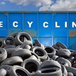 County Collects Old Tires for Recycling