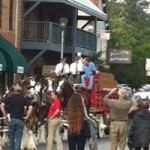Budweiser Clydesdales in Grass Valley
