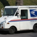 Postal Worker Walks Away from Vehicle Crash
