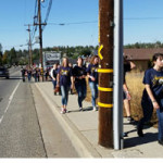 NUHS Students Complete Walkathon Today