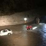 4 people rescued when their SUV Stalls in Greenhorn Creek