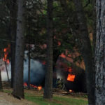 House Destroyed Explosion Reported Alta Sierra