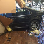 Stuck Accelerator Leads to Car Crash into Market