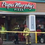 Injuries After Car Crashes Into Papa Murphys