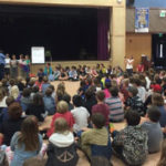 Students from France Visit Deer Creek School