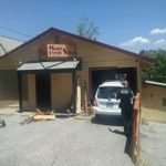 One Injured After Vehicle Crashes Into Hair Salon