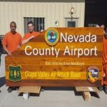 New Welcome Sign at Nevada County Airport