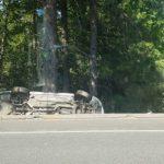 Two Crashes Thursday on Golden Center Freeway