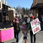 Women March in Nevada City