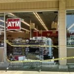 Car Crashes Into Store; No One Hurt