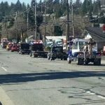 Procession Honors Tow Truck Driver