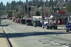 Procession Honors Tow Truck Driver Kncoknco