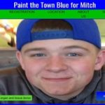 Runners to Paint the Town Blue for Mitch Sunday