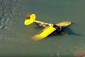 Pilot Crashes Into Yuba River - KNCOKNCO