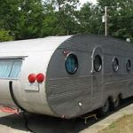 Glampers Bring Vintage Trailers to Fairgrounds