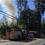 Fire Guts Abandoned Grass Valley Home