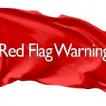 Red Flag Warning Issued For Foothill Counties